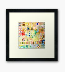 Train Tracks Framed Print