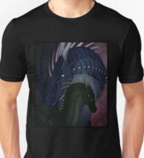 Wings of Fire - Moonwatcher and Darkstalker Unisex T-Shirt