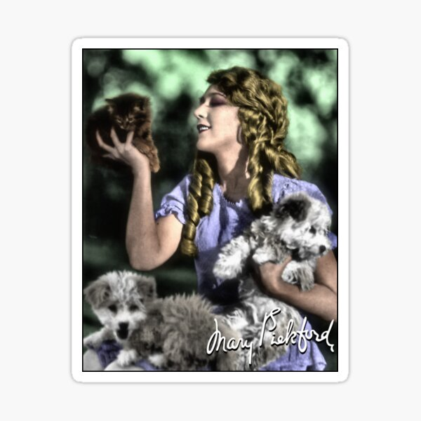 Mary Pickford Sticker