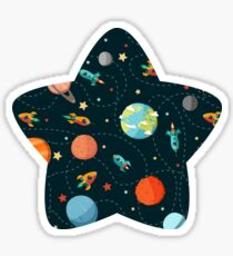 Space Adventure Sticker