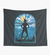 Strange Visitor Wall Tapestry