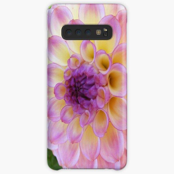 PURPLE DAHLIA FLOWER PETALS Samsung Galaxy Snap Case