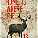 home is where the h(e)art is  by Sybille Sterk