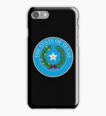 TEXAS, Seal of Texas, State of Texas, America, American, USA, US iPhone Case/Skin