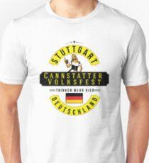 STUTTGART Cannstatter Volksfest Oktoberfest Deutschland Germany Trinken Mehr Bier Beer Unisex T-Shirt