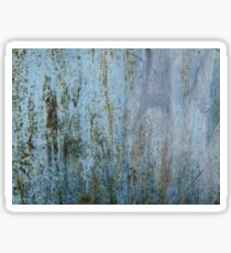 Texture of rusty metal Sticker