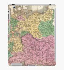 Vintage Map of Germany (1827)  iPad-Hülle & Skin
