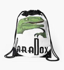Paradoxical Philosoraptor  Drawstring Bag