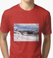 Great Aletsch Glacier Tri-blend T-Shirt
