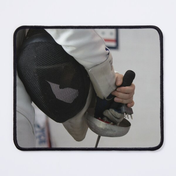 Mask and Weapon Mouse Pad