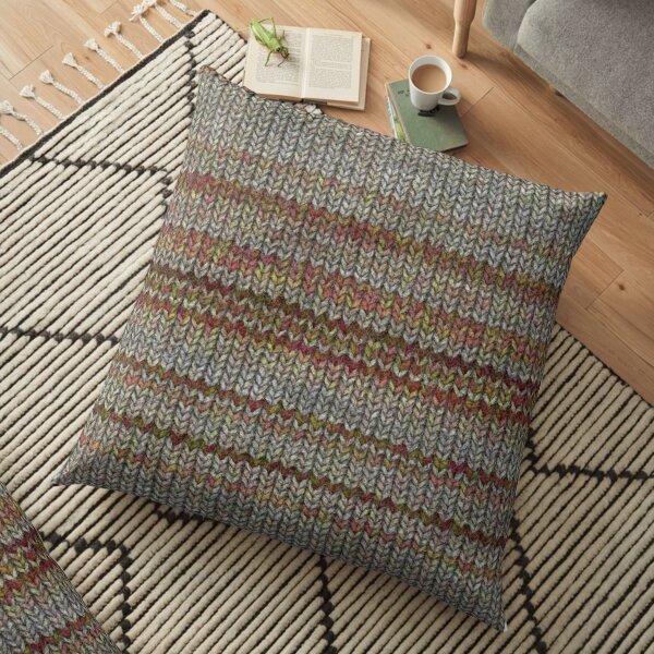 Wool Texture Floor Pillow