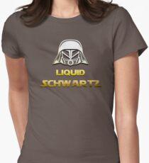 SPACEBALLS LIQUID SCHWARTZ Womens Fitted T-Shirt