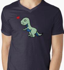 Cartoon comic dino dinosaur green T-Shirt