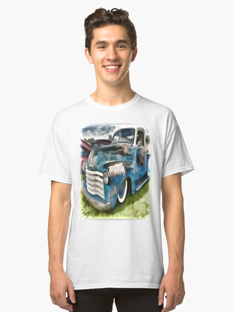 Chevy Truck Classic T-Shirt Front