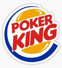 Poker King Sticker