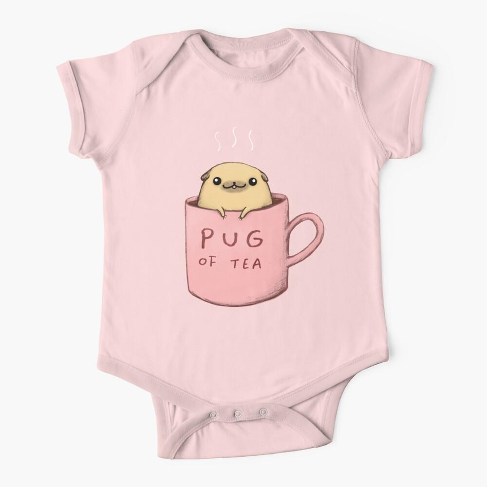 Pug of Tea Baby One-Piece