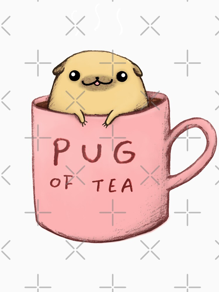 Pug of Tea by SophieCorrigan