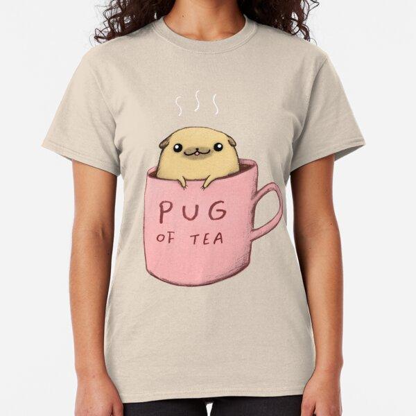 Pug of Tea Classic T-Shirt