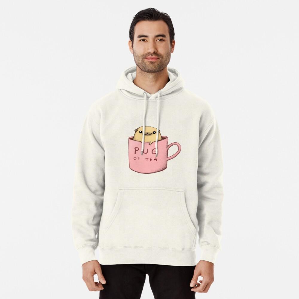 Pug of Tea Pullover Hoodie