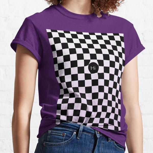 Checkers Blush of Purple Classic T-Shirt