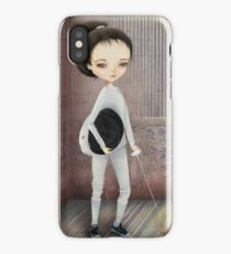 The Fencer iPhone Case/Skin