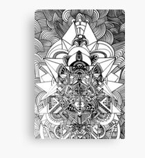 ancient futurism Canvas Print