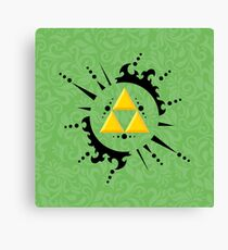 Triforce Zelda Canvas Print