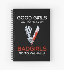 Viking Girl Spiral Notebook