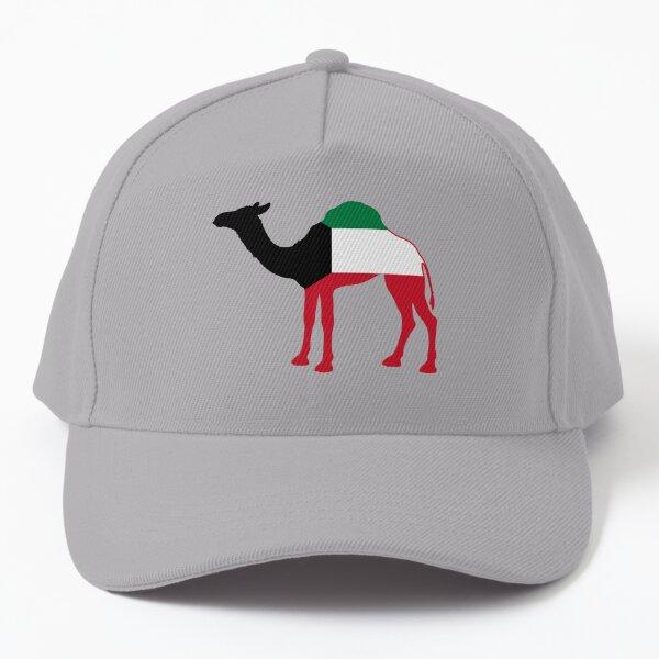 Flag Dromedary of Kuwait Baseball Cap