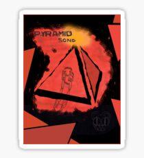 Radiohead - Pyramid Song  Sticker
