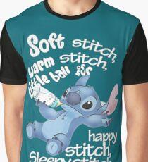 Soft Kitty - Stich Grafik T-Shirt