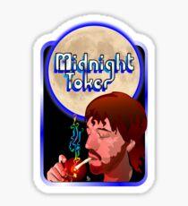 The Midnight Toker Sticker