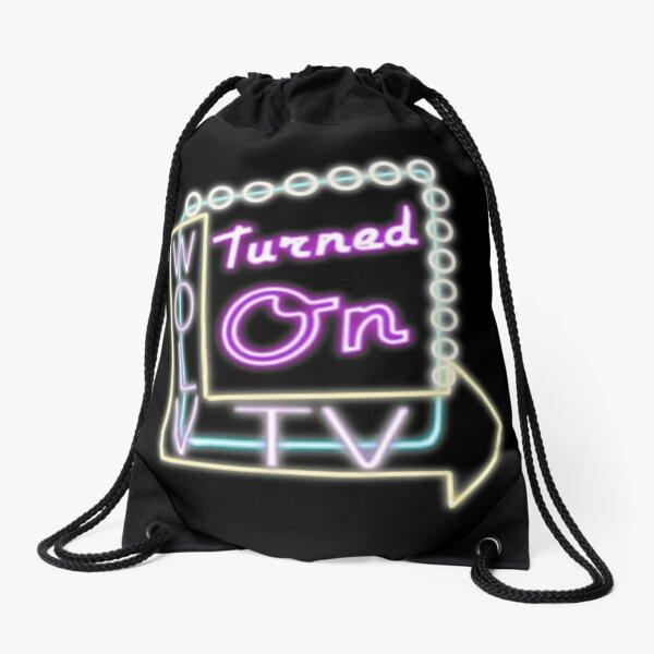 Turned On Swag Drawstring Bag
