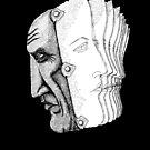 Pablo Picasso portrait  by Vitaliy Gonikman