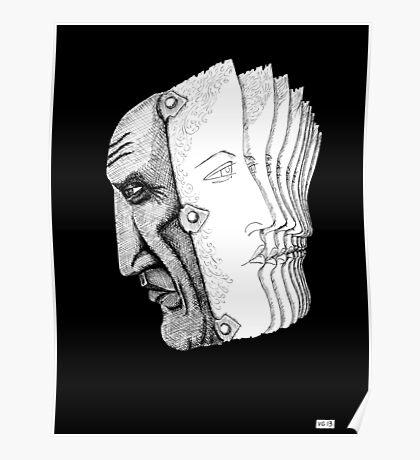 Pablo Picasso portrait  Poster
