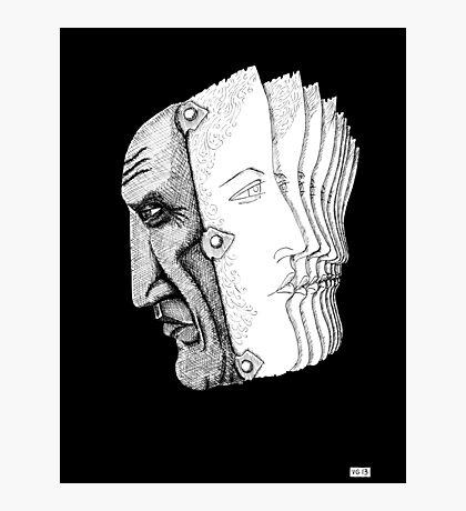Pablo Picasso portrait  Photographic Print