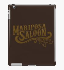Mariposa Saloon iPad Case/Skin