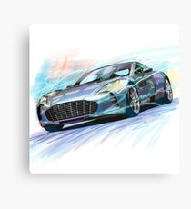 ASTON MARTIN Canvas Print
