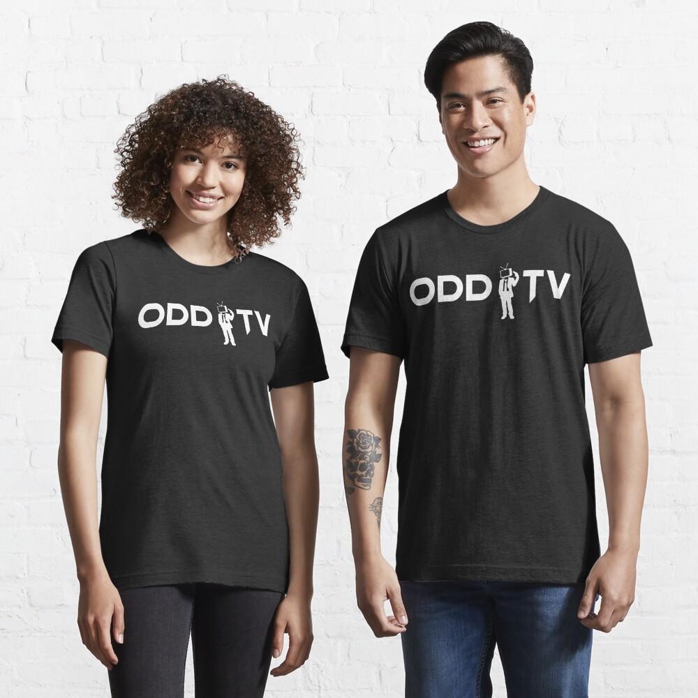 ODD TV Lone Gunman White Essential T-Shirt