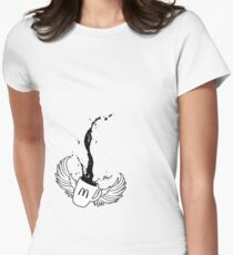 Mcdonalds coffee tribute Women's Fitted T-Shirt