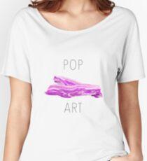 POP ART BACON Women's Relaxed Fit T-Shirt