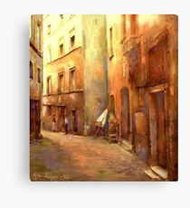 A Moment in Rome Canvas Print