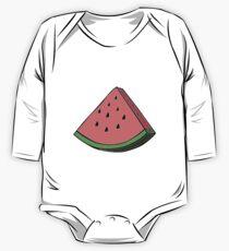 Pop Art Watermelon One Piece - Long Sleeve