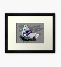 Console City Framed Print