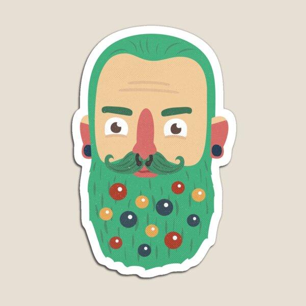 Beard Baubles Magnet