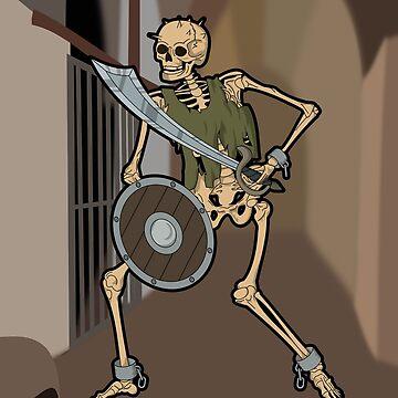 Skeleton Warrior  by GrimDork