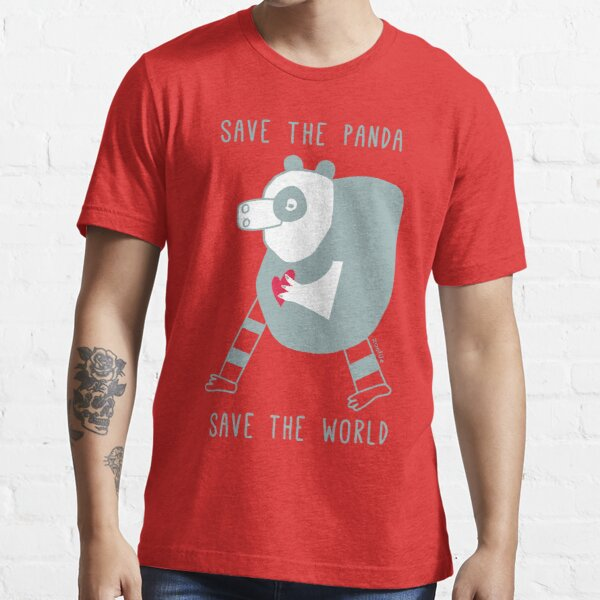 save the panda save the world! Essential T-Shirt