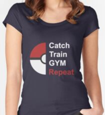 Pokemon Design Women's Fitted Scoop T-Shirt