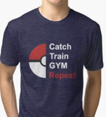 Pokemon Design Tri-blend T-Shirt