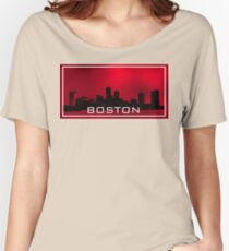 Boston.Red sky Women's Relaxed Fit T-Shirt